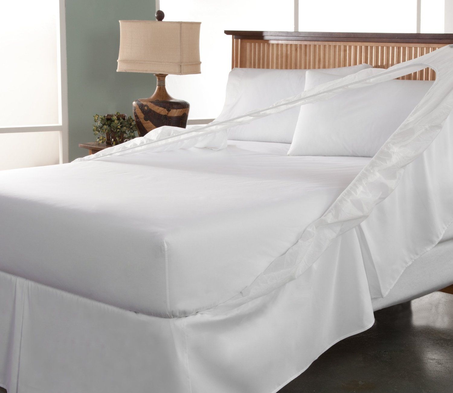 Perfect Fit Easy on Easy Off Bed Skirt and