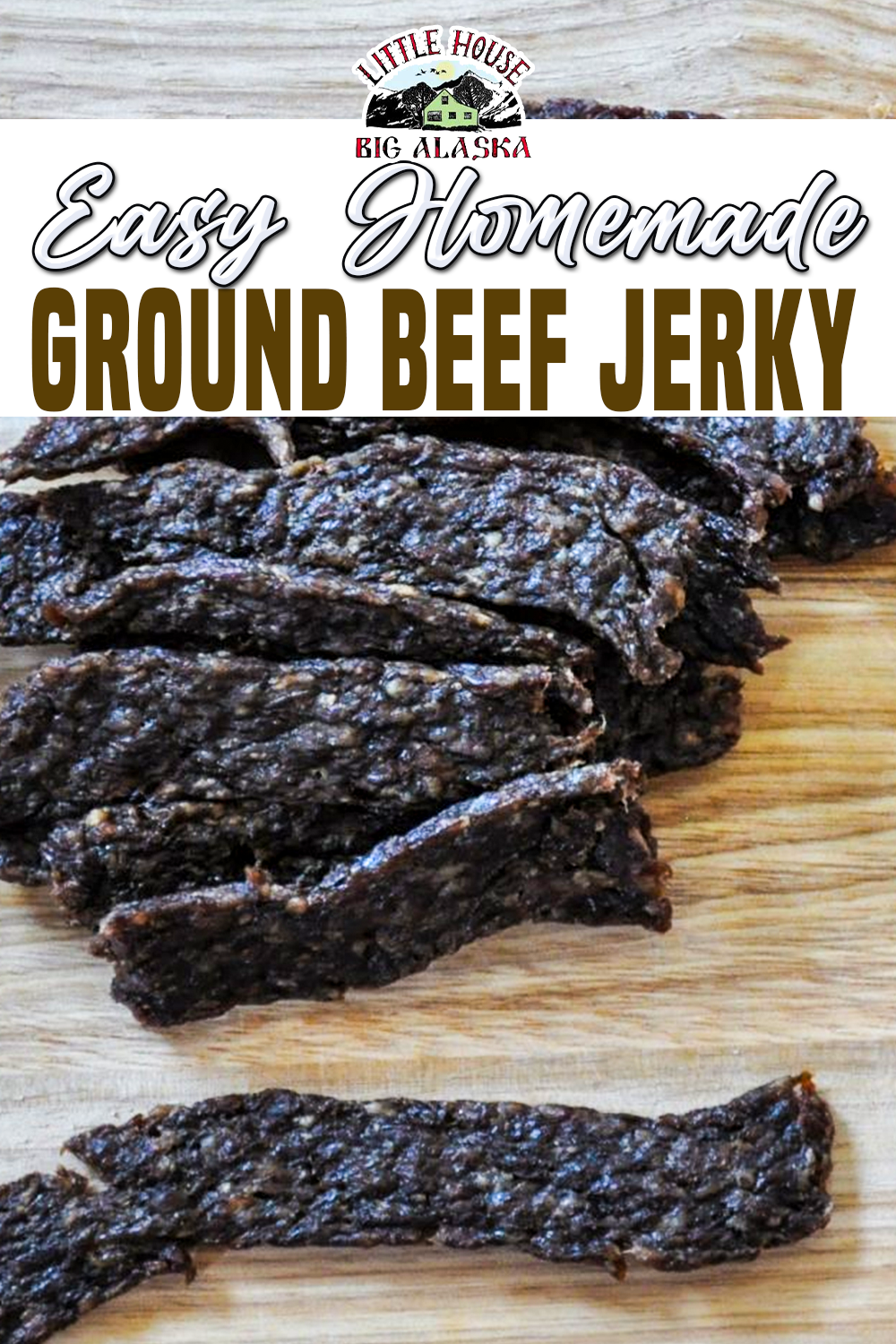 Easy Homemade Ground Beef Jerky Recipe In 2020 Delicious Beef Recipe Ground Beef Jerky Recipe Homemade Ground Beef Jerky Recipe