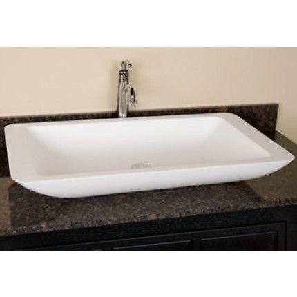 Vessel Sinks Glass Copper Steel Stone Signature Hardware White Clear Black Sink Vessel Sink Vessel Sink Bathroom