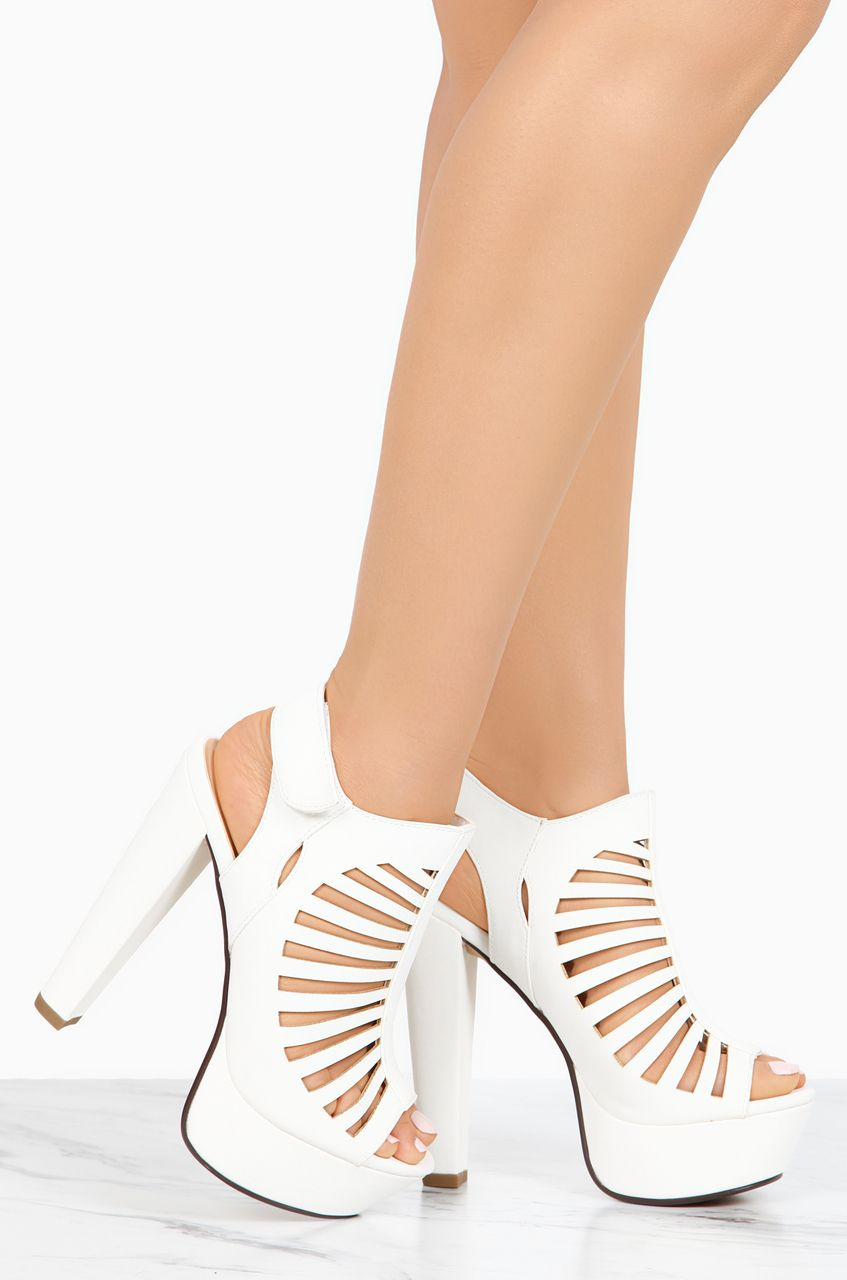 08dd83dce29 Hot High Heels · Top It Off - White - Lola Shoetique