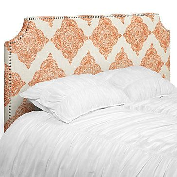 Z Gallerie - Jane Headboard - I really like this, but I think I\'d ...
