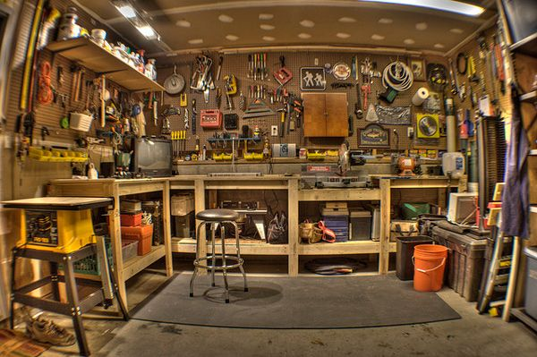 man cave garage | Man Caves: The Garage Home Improvement | Man ...