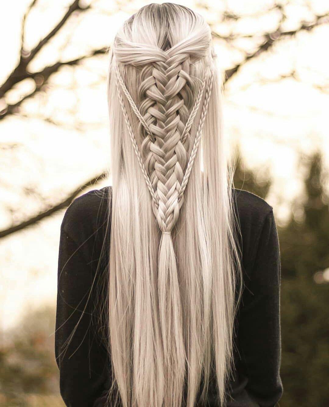 Pin By Zainab Qureshi On Hair Style Elf Hair Braided Hairstyles Hair Styles