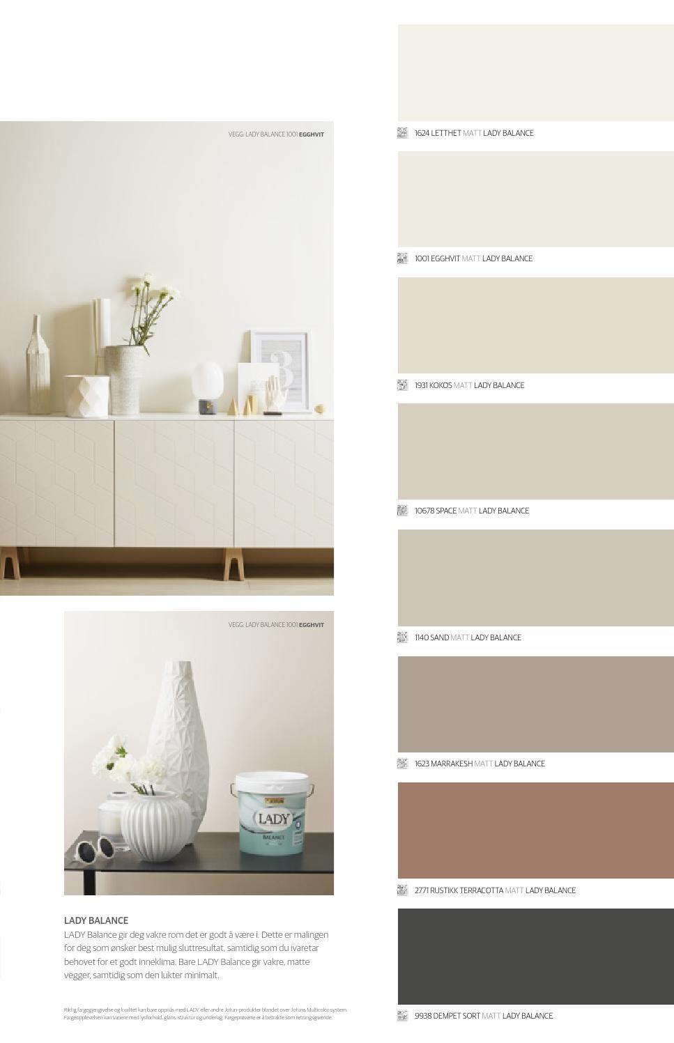 jotun lady det nye vakre fargekartet 2015 nye living. Black Bedroom Furniture Sets. Home Design Ideas
