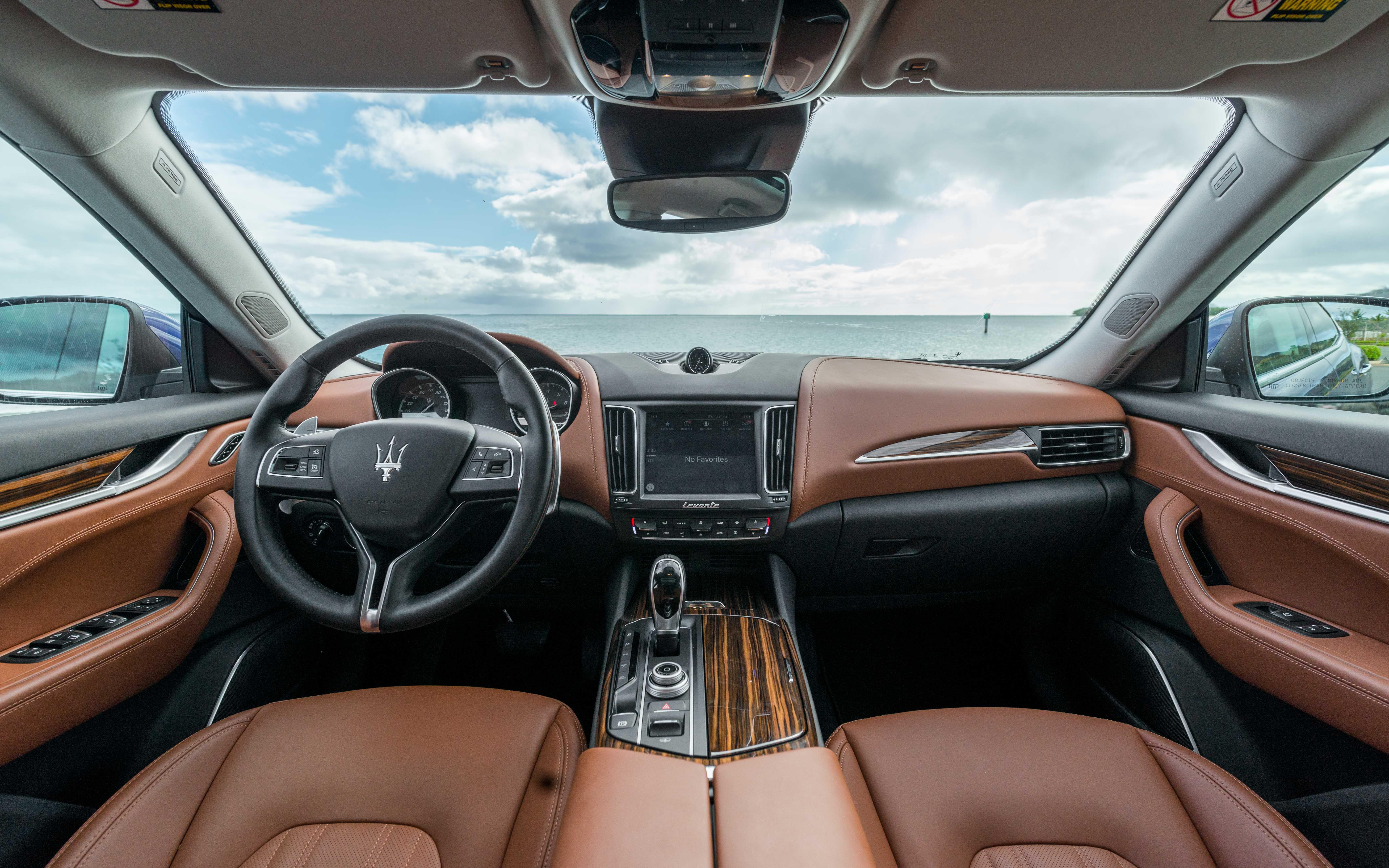 2017 Maserati Levante Interior Maserati Maserati Dealership
