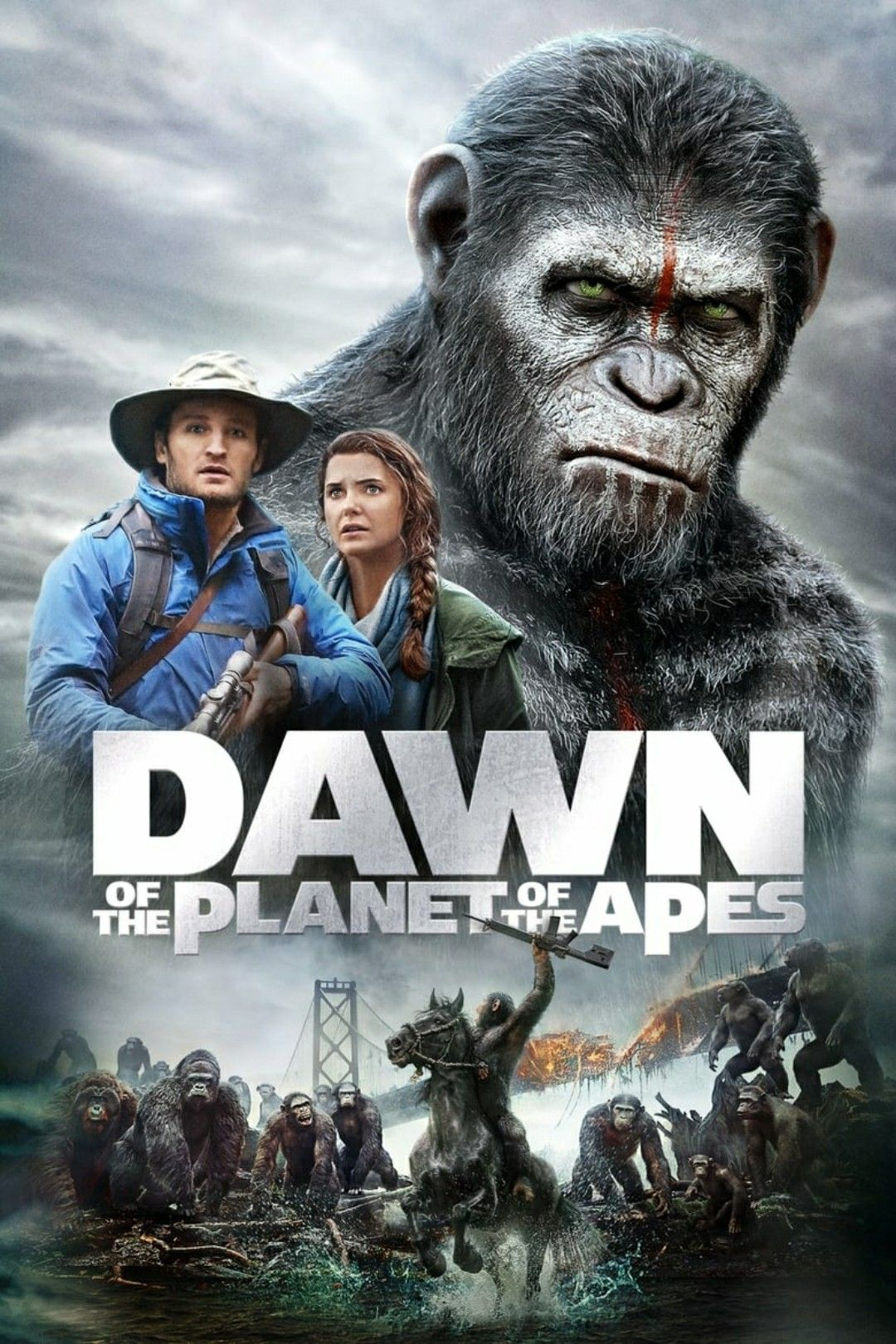Dawn Of The Planet Of The Apes 惑星 映画 世紀
