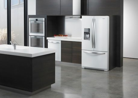 Whirlpool refridgerator- Ice Collection- white/stainless steel ...