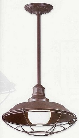 Circa 1910 Hanging Exterior Lantern Bathroom Wall