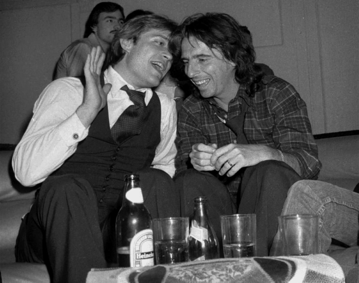 Jack Ford And Alice Cooper 1978 Photos Inside Studio 54 In