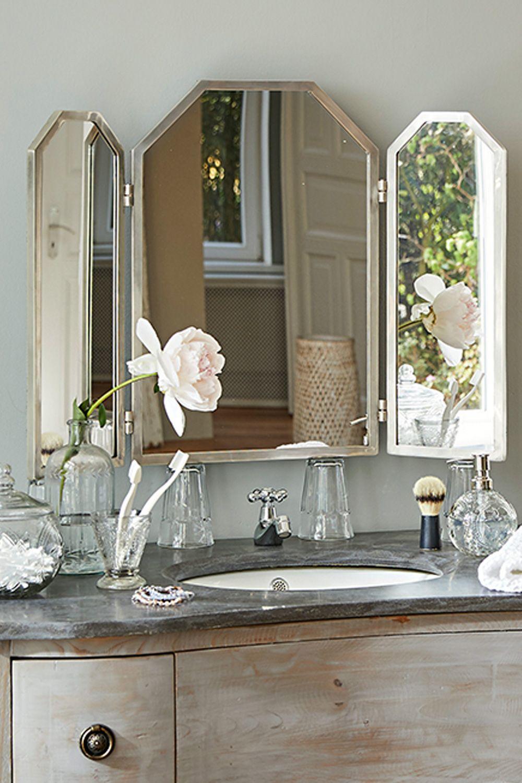 Miroir Triptyque Adams Loberon Miroir Miroir A Poser Salle De Bain 3d