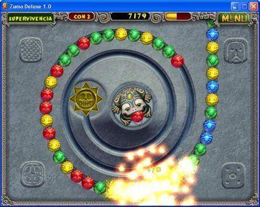 Zuma Deluxe Screenshot 2 Arcade Windows Bolas