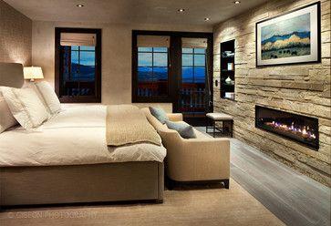 Slopeside Contemporary Contemporary Bedroom Denver Highline Partners Ltd Beautiful Bedrooms Contemporary Bedroom Modern Bedroom