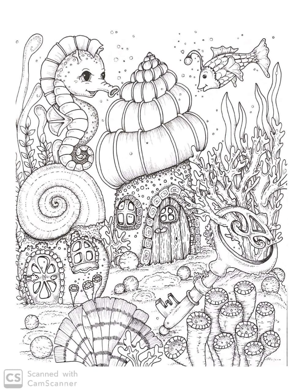 Pin By Morgan Aarmstrong On Maria Trolle Hanna Karlzon Klara Markova In 2020 Coloring Book Art Coloring Books Fairy Coloring Pages