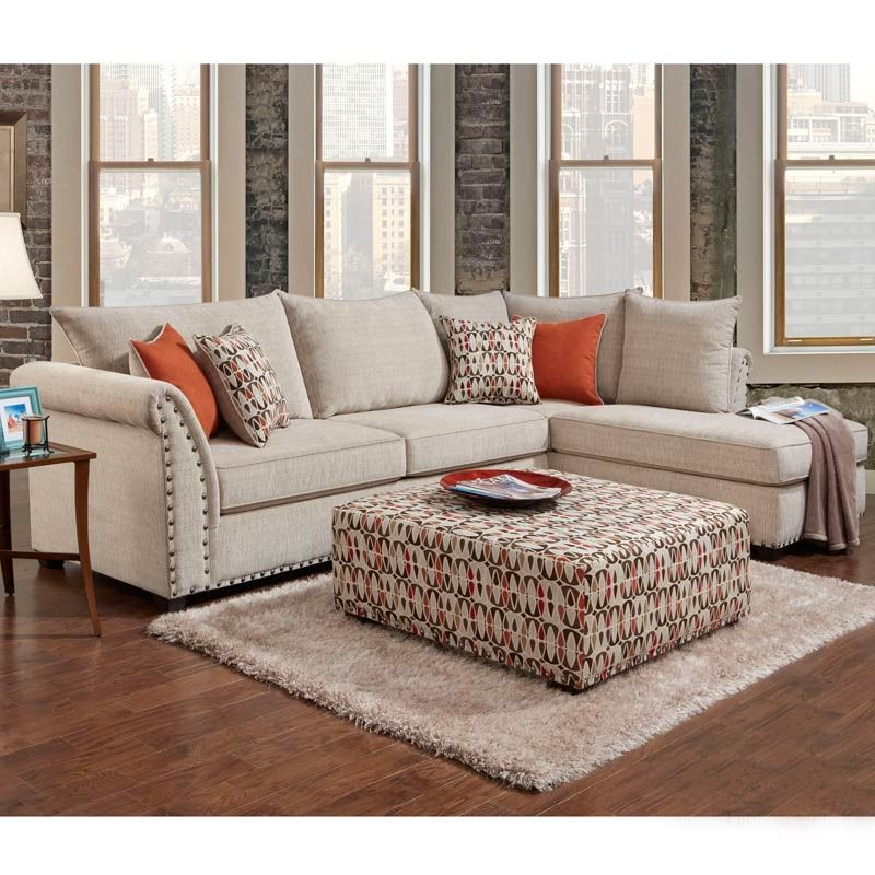 Washington Patton Cream Chenille Secti Furniture And Mattress Outlet Living Room Sofa Living Room Diy Living Room Sets