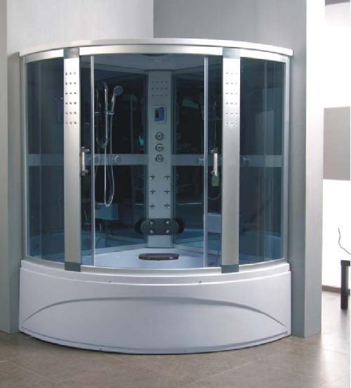 Captivating Fentro 1500mm X 1500mm Corner Whirlpool Steam Shower Bath | Furniture Store  UK