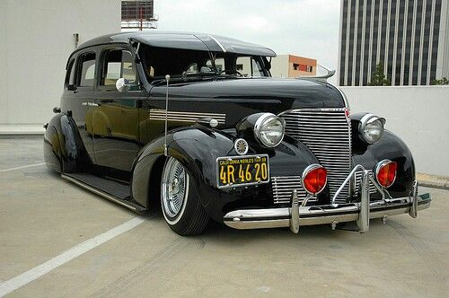 '39 Master Deluxe black | Old School Dreams (Cars ...