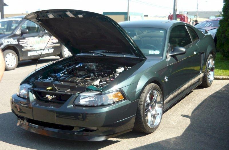 Dark Satin Green 1999 Ford Mustang Gt Coupe Mustangattitude Com