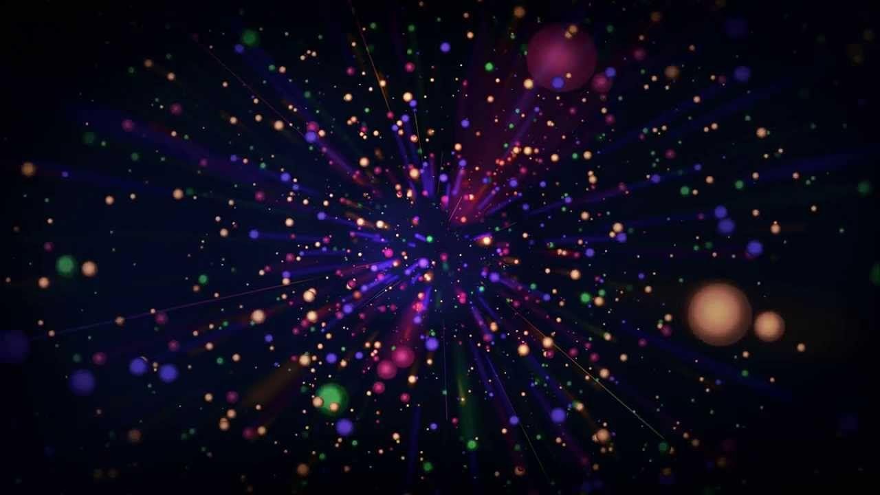 خلفية مونتاج الوان Celestial Bodies Nebula