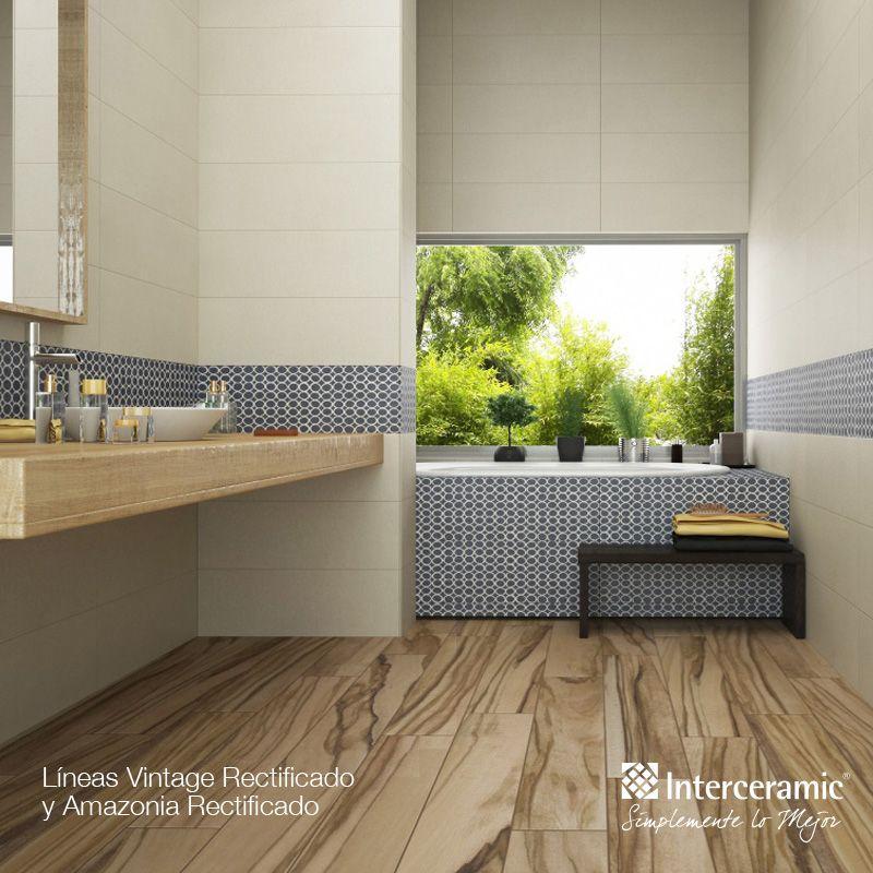 Nuestras maderas cer micas son perfectas para el ba o - Ceramicas para banos ...