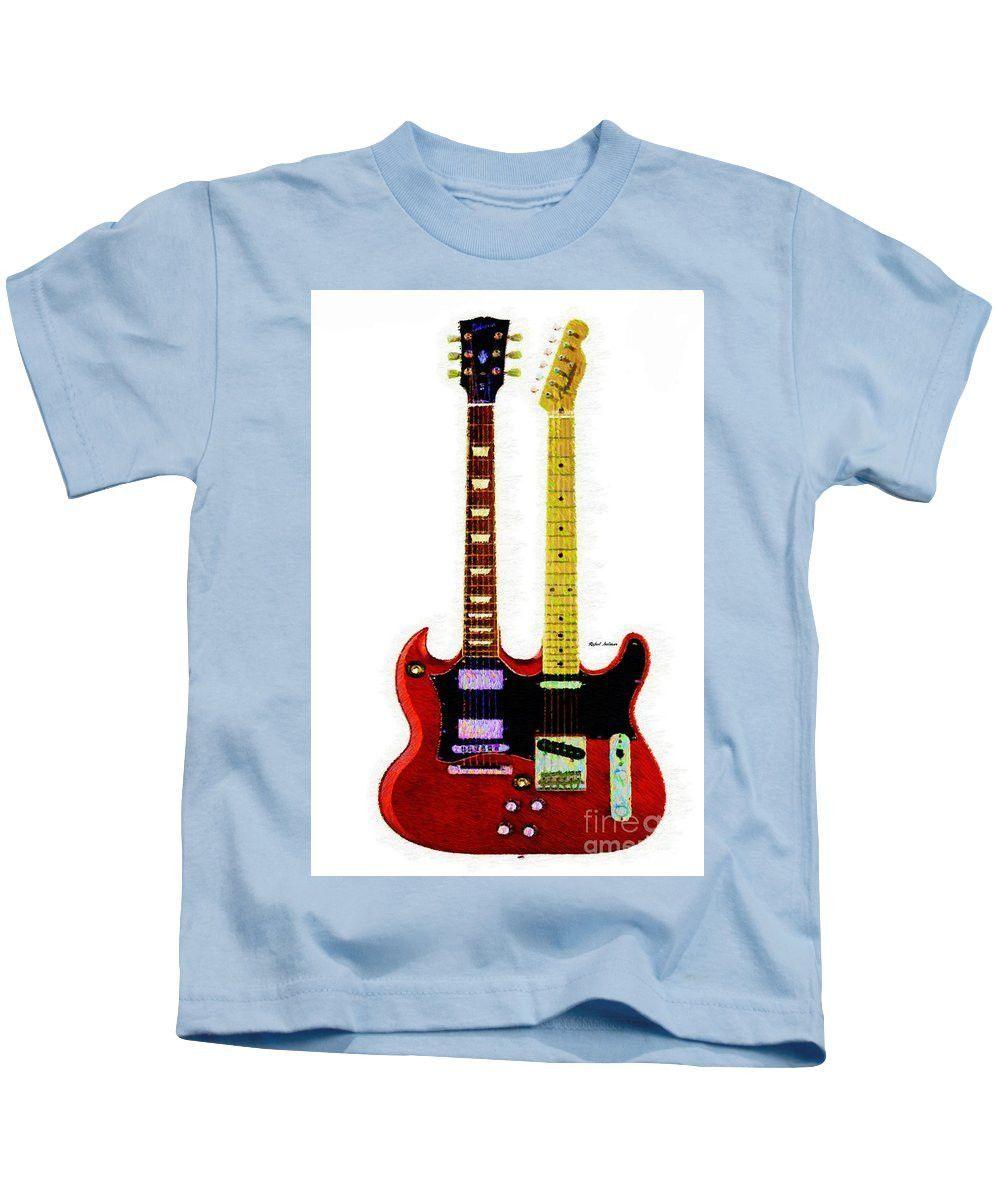 Kids T-Shirt - Guitar Duo