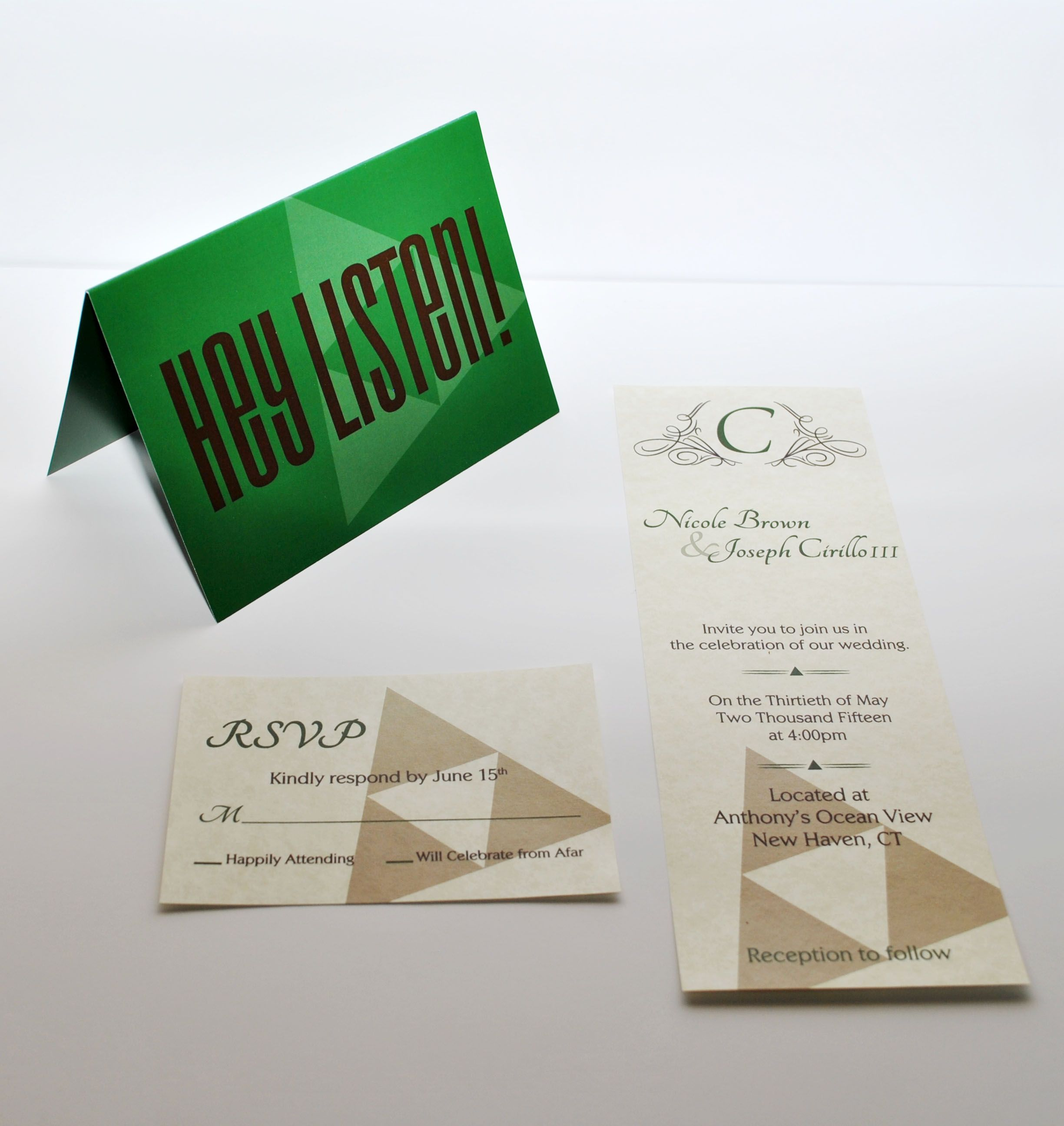 Legend of Zelda inspired wedding invitation set. Geek wedding ...