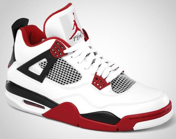 Air Jordan IV Retro - White/Varsity Red-Black | Release Info