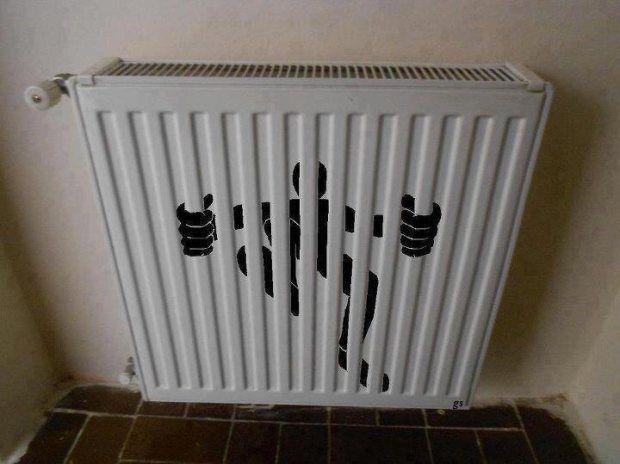 So Simple So Great Home Art Radiators Painted Radiator