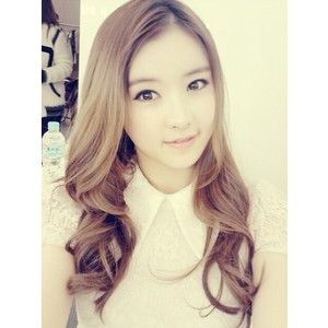 Day 23 Picture Of A K Pop Idol Who You Think Is Underrated E Young Of After School Is So Underrated When She Has Immense Talen Beauty Hair Long Hair Styles