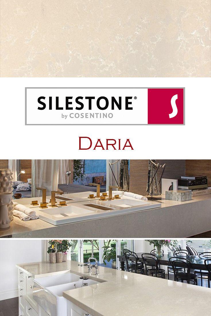Daria by Silestone is perfect for a kitchen quartz ...