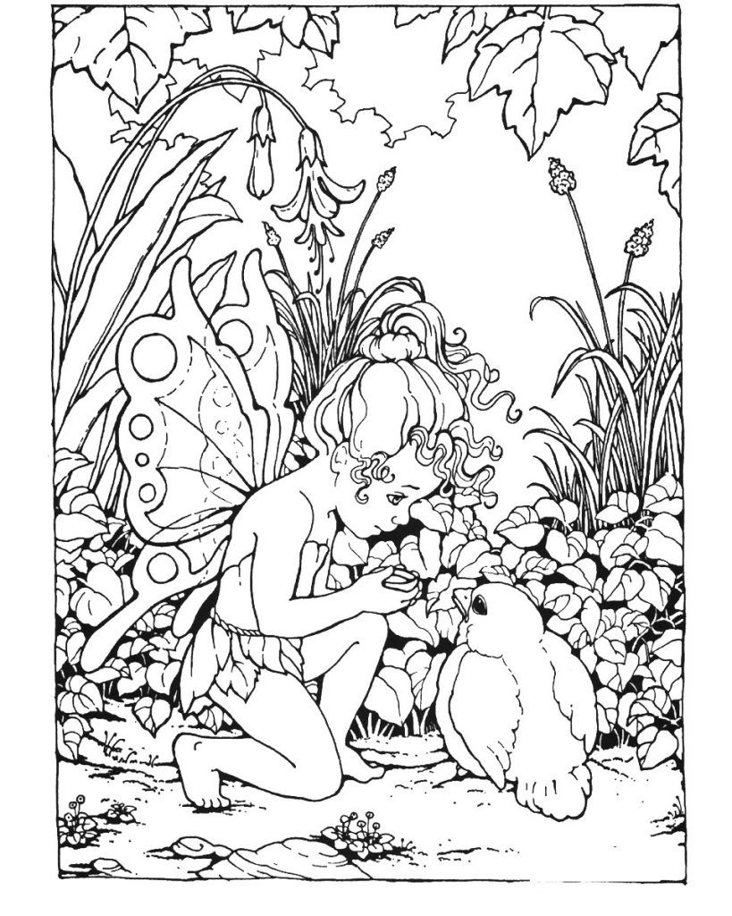 Fantasy Coloring Pages | Fairy Tales and Mythology Coloring Pages ...