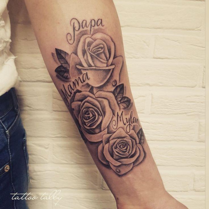 35++ Rosen tattoo mit namen Trends