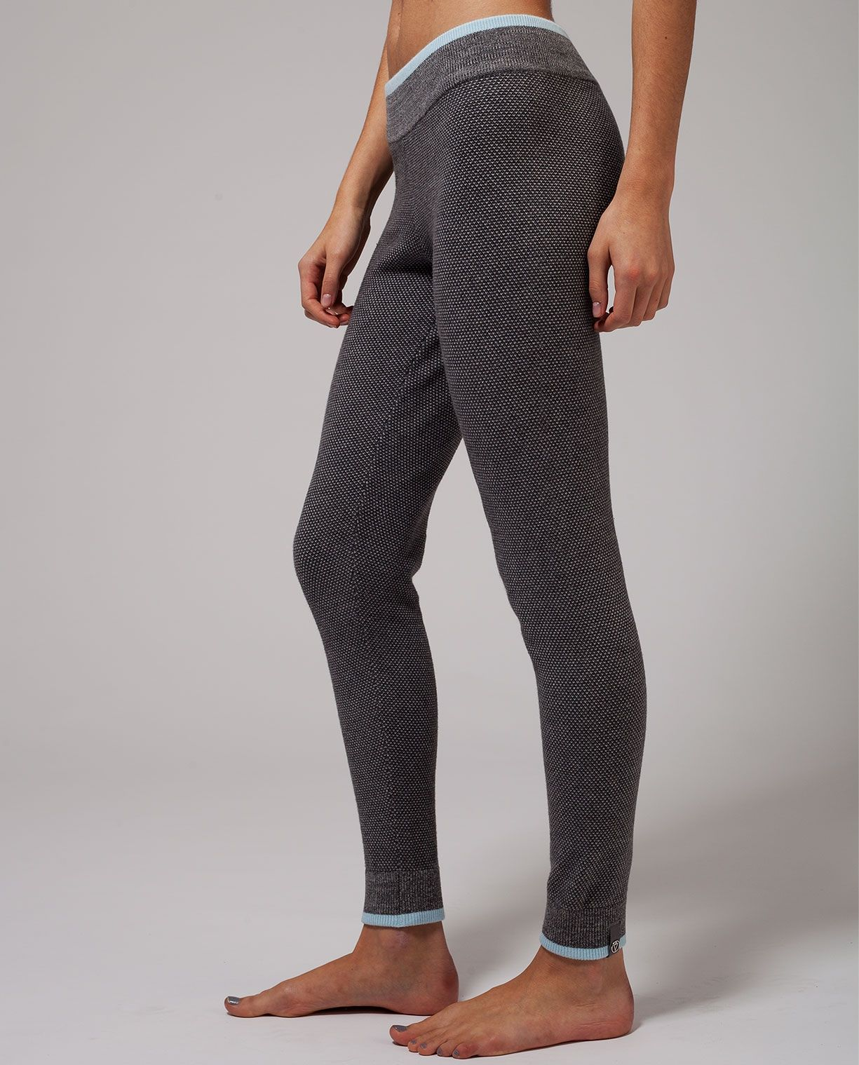 6858fc7efb Ivivva Feelin' Toasty Pant in heathered dark grey/heathered medium  grey/caspian blue