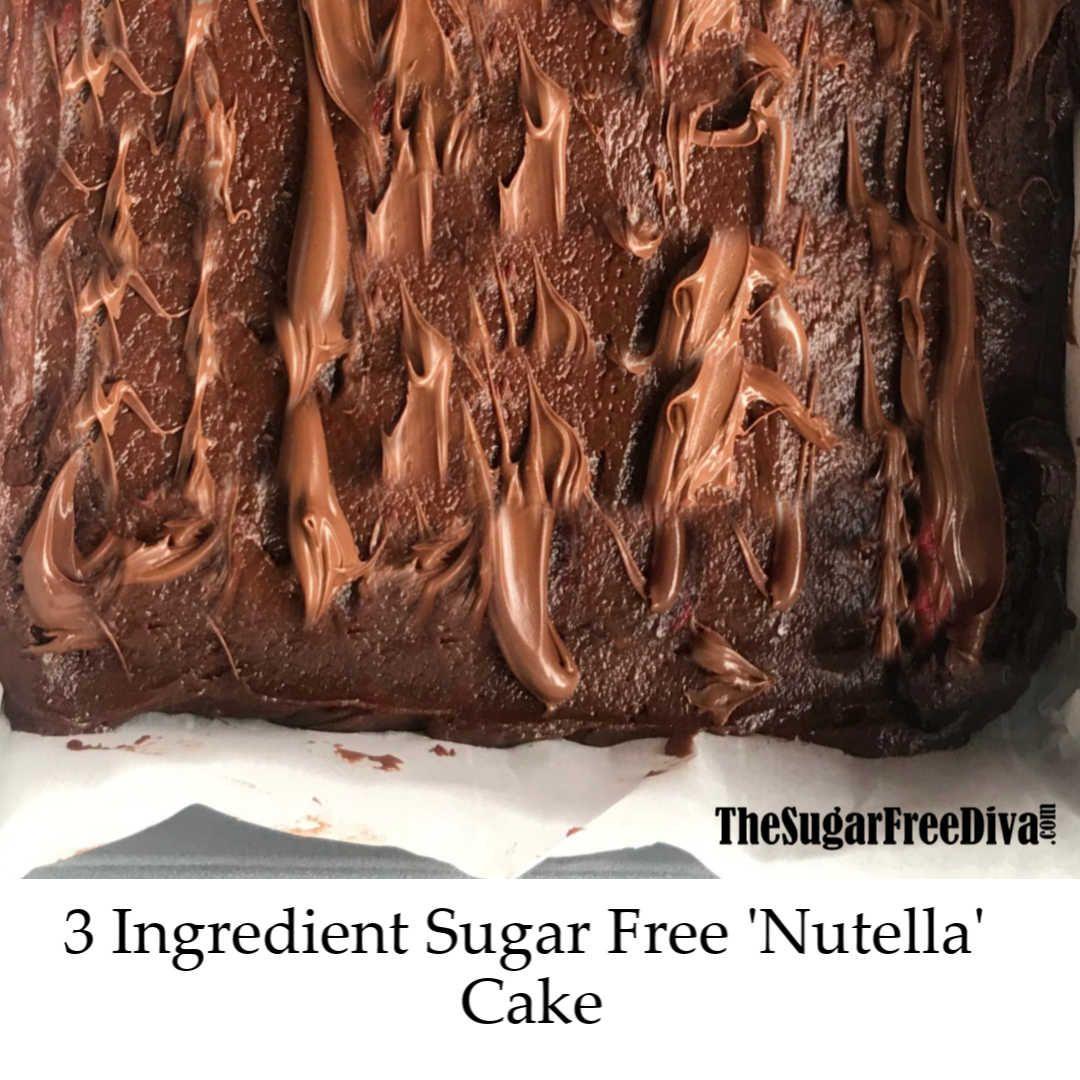 sugar free nutella ingredients