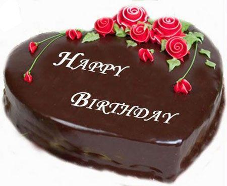Chocolate Heart Shape Cake 1 Kg Just Rs 650 Happy Birthday Cake