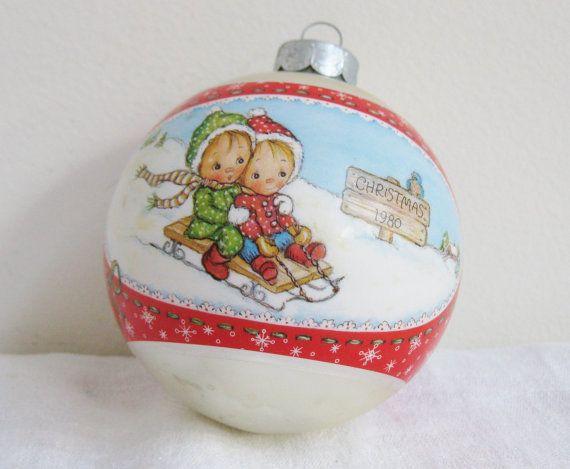 Hallmark Holiday Ornament Betsey Clark 1981 Keepsake Christmas Ornament  In Box Vintage Holiday Decor