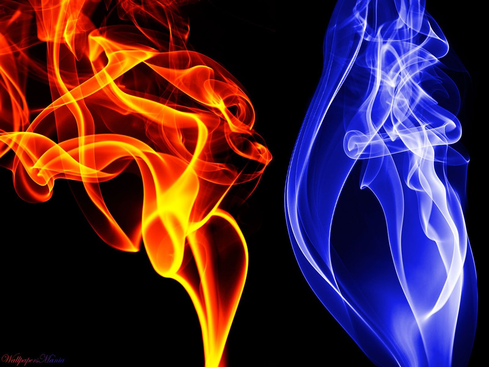 I love this pic 😀😀😀 Smoke wallpaper, Fire and ice