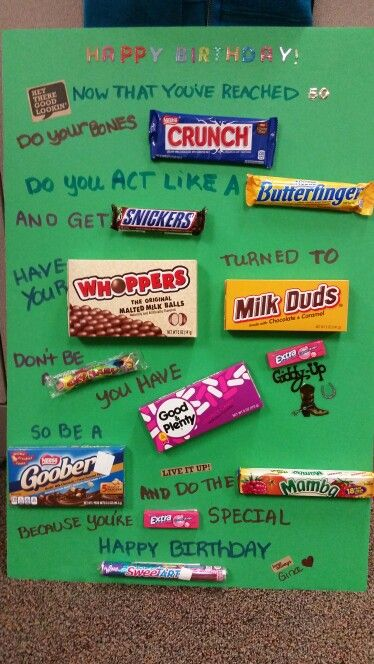 Giant Candy Love Letter