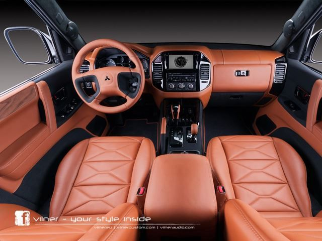 Vilner Transforms Mitsubishi Pajero Montero Limited Shogun