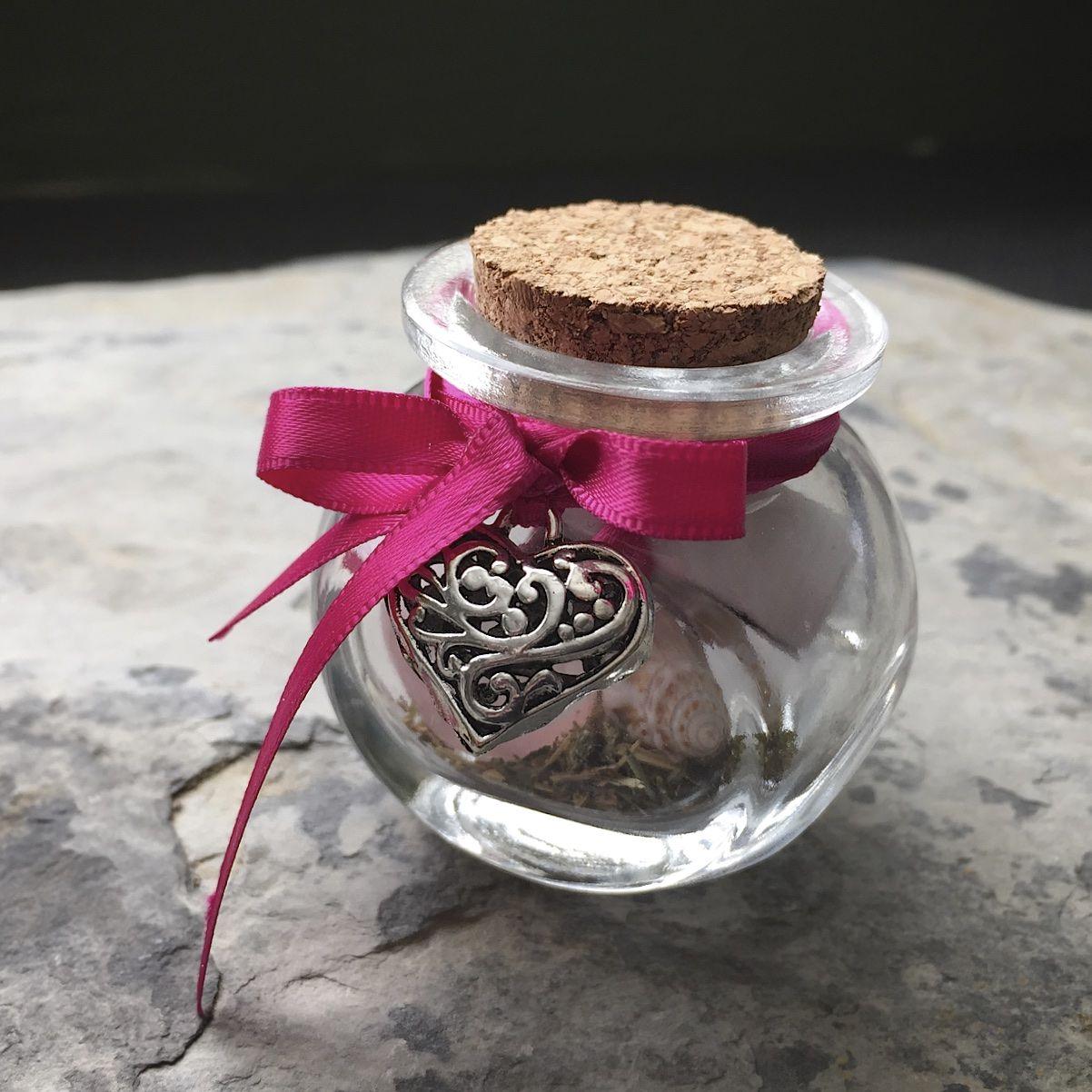 'Love & Friendship' Witch Charm Bottle