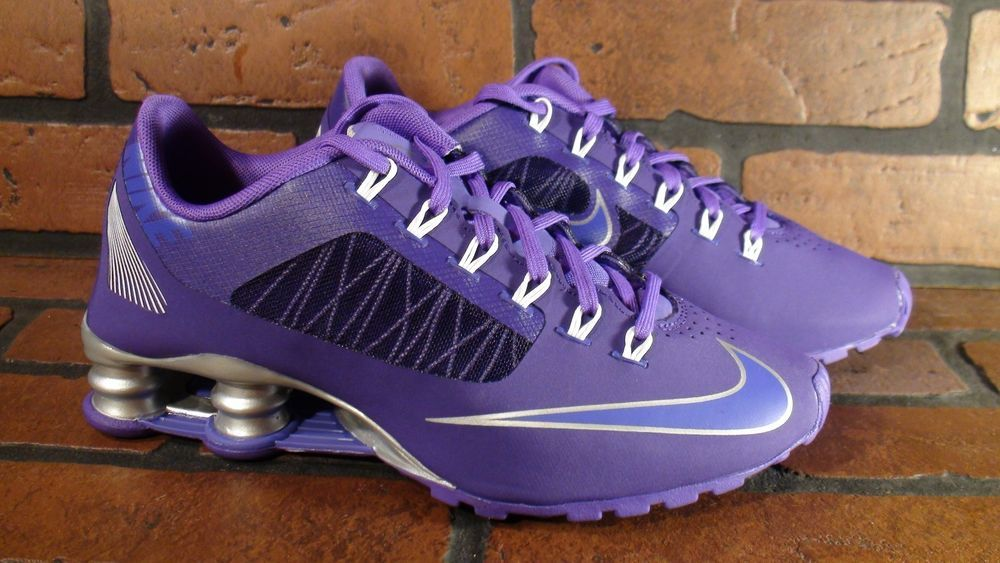 NIKE Shox Superfly R4 Womens Shoe Size 7.5 NEW 653479-550 Purple Silver in  Athletic  24031138c