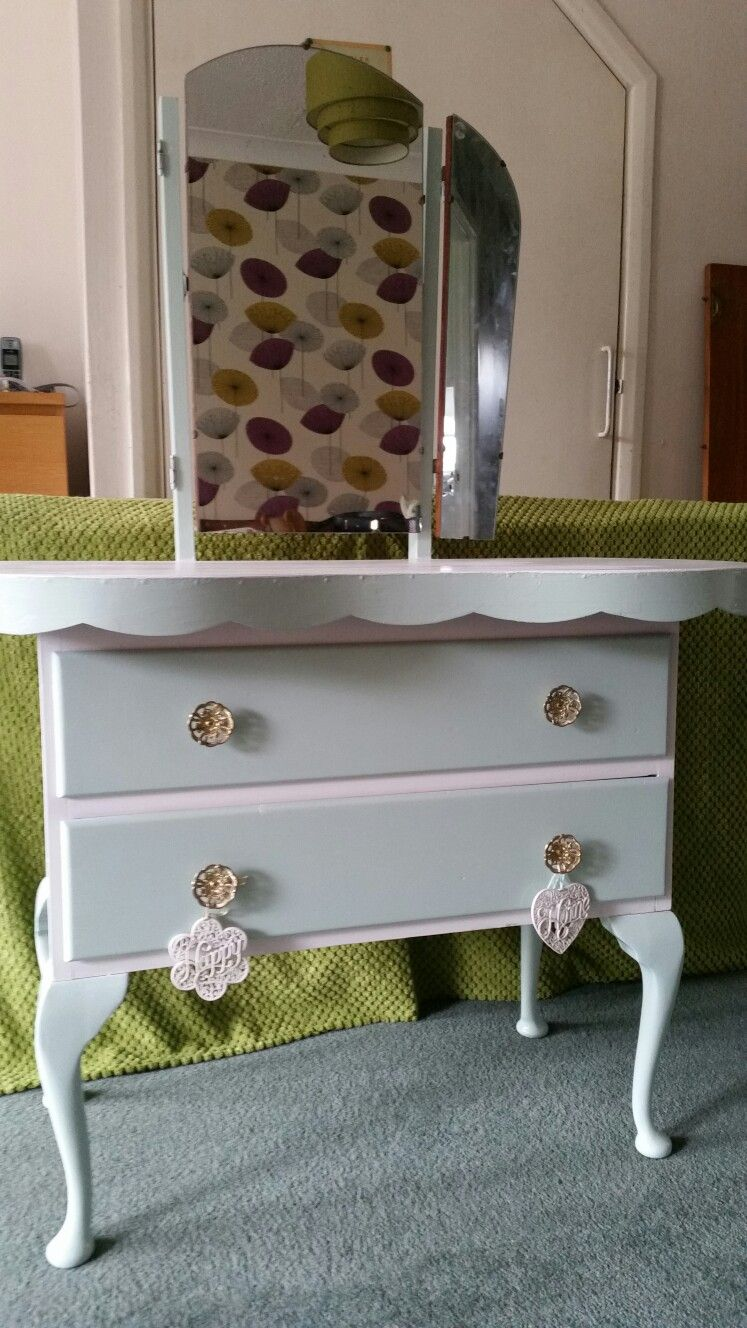 Genial 1930s Kidney Dressing Table Upcycled Dressing Table Upcycled, Dressing  Tables, Vintage Designs, Diy