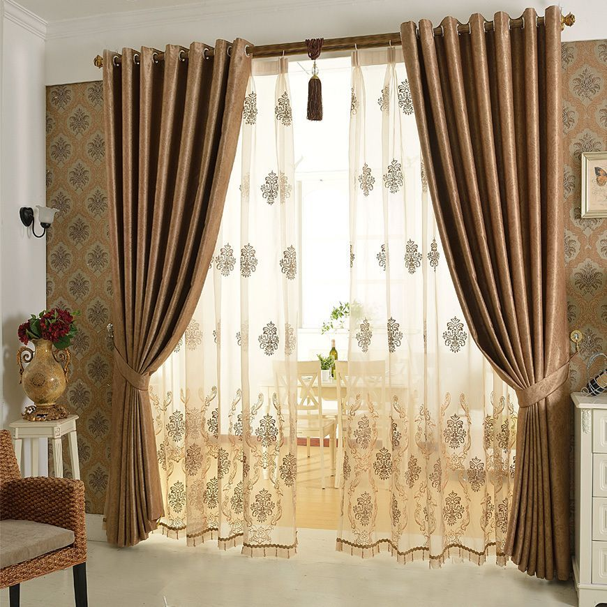 Aliexpress Com Buy European Luxury Curtain Cortina Windows