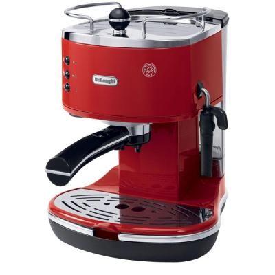 DeLonghi Icona Espresso 15-Bar Red Espresso Machine and Cappuccino Maker ECO310R - The Home Depot