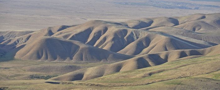 Shadowed Hills by David Clendenen on Capture Kern County // My favorite time of day, when shadows lengthen, giving form and definition to hills eroded into fantastic shapes through eons of time by wind and water.