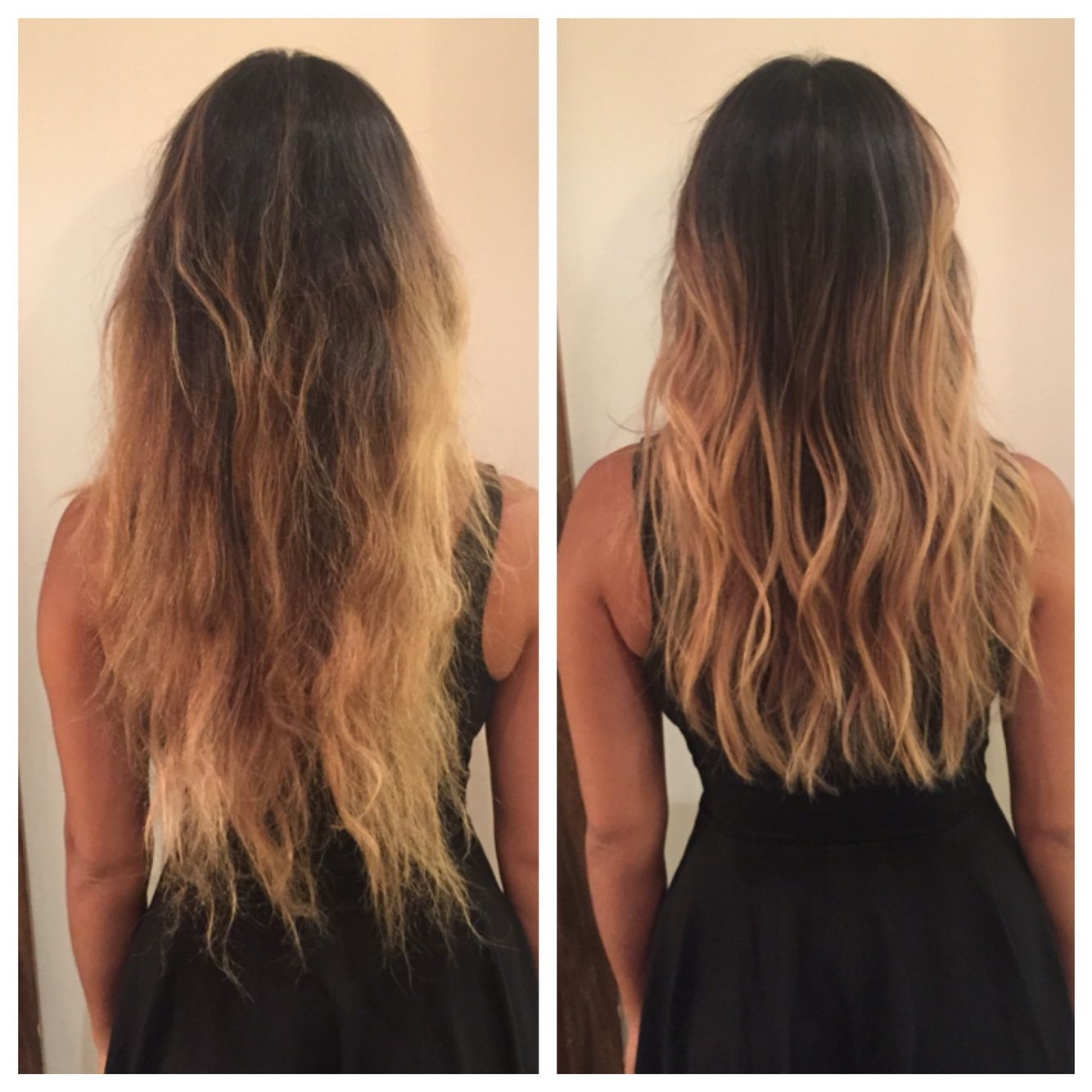Super Before And After Long Layers Haircut Soft Undercut Texture Short Hairstyles For Black Women Fulllsitofus