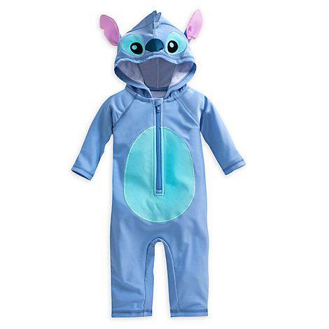 50cb0e8a Traje de playa tipo disfraz de Stitch para bebé | Baby Dream ...
