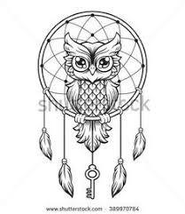 Resultado De Imagen De Mandala Buho Y Atrapasuenos Tatuajes