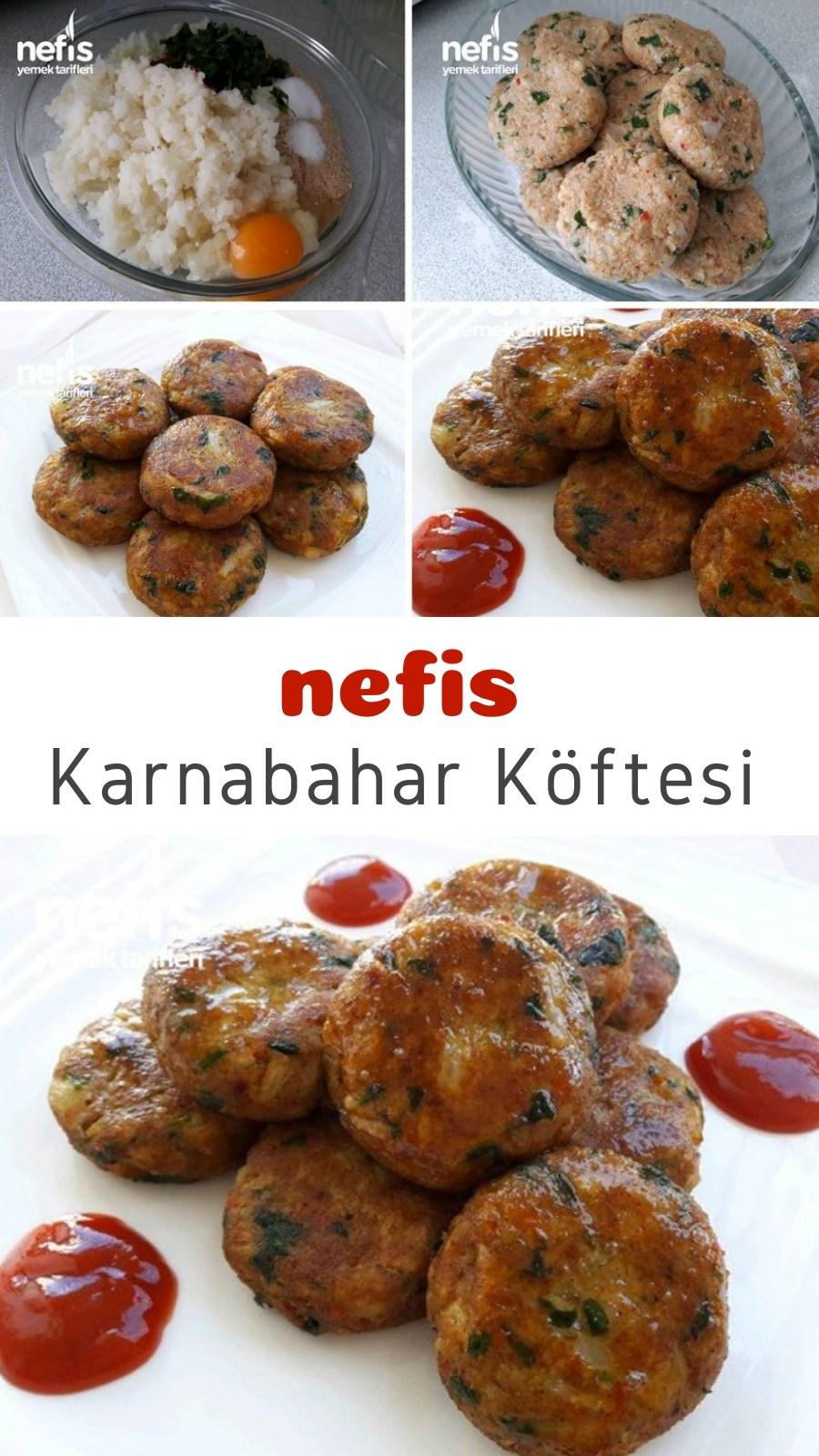 Photo of Cauliflower patties – delicious recipes – # 6535347 – Köfte Tarifleri – #Blum …