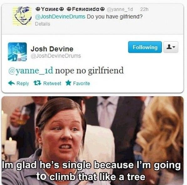 Josh Devine Drummer For One Direction Does Not Have A Girlfriend