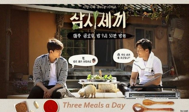 'Three Meals a Day' goes back to basics